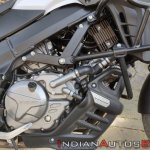 Suzuki V Strom 650 Xt Details Engine Right Side