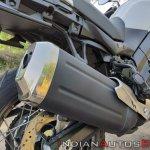Suzuki V Strom 650 Xt Details Exhaust