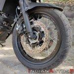 Suzuki V Strom 650 Xt Details Front Wheel