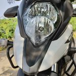 Suzuki V Strom 650 Xt Details Headlight And Beak