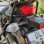 Suzuki V Strom 650 Xt Details Rear Blinkers