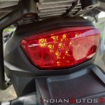 Suzuki V Strom 650 Xt Details Tail Light Close Up