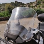 Suzuki V Strom 650 Xt Details Windscreen 1