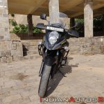 Suzuki V Strom 650 Xt Review Still Shots Front