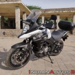 Suzuki V Strom 650 Xt Review Still Shots Front Lef