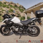 Suzuki V Strom 650 Xt Review Still Shots Left Pear