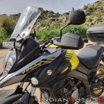 Suzuki V Strom 650 Xt Review Still Shots Left Thre