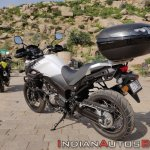 Suzuki V Strom 650 Xt Review Still Shots Pearl Gla