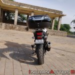 Suzuki V Strom 650 Xt Review Still Shots Rear Pear
