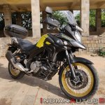Suzuki V Strom 650 Xt Review Still Shots Right Fro