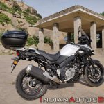 Suzuki V Strom 650 Xt Review Still Shots Right Rea