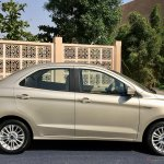 2018 Ford Aspire Facelift Review Side Profile 2