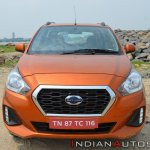 2018 Datsun Go Facelift Front Elevated View
