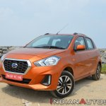 2018 Datsun Go Facelift Front Three Quarters Brigh