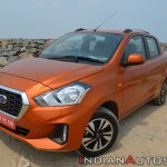 2018 Datsun Go Facelift Front Three Quarters Eleva