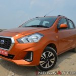 2018 Datsun Go Facelift Front Three Quarters Still