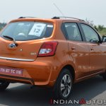2018 Datsun Go Facelift Rear Three Quarters Right