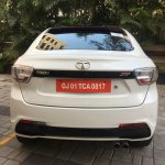 Tata Tigor Jtp White Rear
