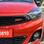 Tata Tiago Jtp Review Images Front Badge