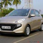 2018 Hyundai Santro Review Images Front Three Quat