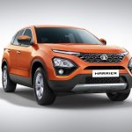 Tata Harrier Front Three Quarters Official Image