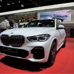 2019 Bmw X5 Front Quarter At 2018 Paris Auto Show