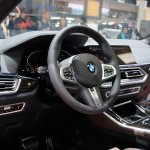 2019 Bmw X5 Steering At 2018 Paris Auto Show