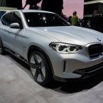 Bmw Concept Ix3 At 2018 Paris Auto Show