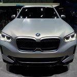 Bmw Concept Ix3 Front At 2018 Paris Auto Show