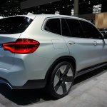 Bmw Concept Ix3 Rear Quarter At 2018 Paris Auto Sh