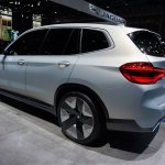 Bmw Concept Ix3 Rear Quarters At 2018 Paris Auto S