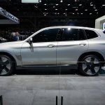 Bmw Concept Ix3 Side At 2018 Paris Auto Show