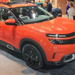 Citroen C5 Aircross Front Quarters At 2018 Paris A