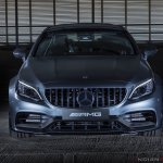 New Mercedes C 63 Amg Coupe Facelift Front