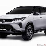 Toyota Fortuner Legender Front Three Quarters