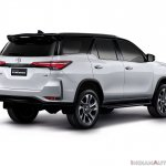 Toyota Fortuner Legender Rear Quarters