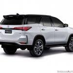 Toyota Fortuner Legender Rear Quarters