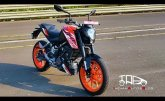 All-new KTM Duke 125 | Test track review | Wild child of the 125cc motorcycle segment