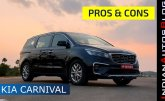 Kia Carnival Pros & Cons (Hindi) | What We Liked & What We Didn't