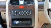 Tata Safari Storme controls for air-conditioning and audio