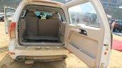 Tata Safari Storme seats folded up