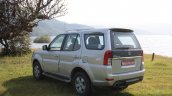 Tata Safari Storme rear left quarter angle