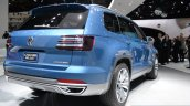 VW CrossBlue Concept at NAIAS 2013 - Rear three quarters