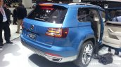 VW CrossBlue Concept rear three quarters