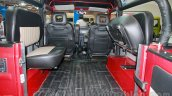 Force Gurkha softtop rear seats