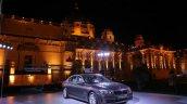 BMW 7 series facelift jodhpur preview front quarter