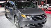 2014 Honda Odyssey Touring Elite front three quarters