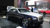 Rolls Royce Wraith front three quarters right