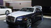 Rolls Royce Wraith front three quarters left