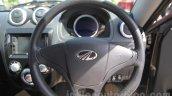 Mahindra Reva E2O steering wheel